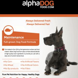 47a115ab15203 Maintenance Dog Food | Wholesale